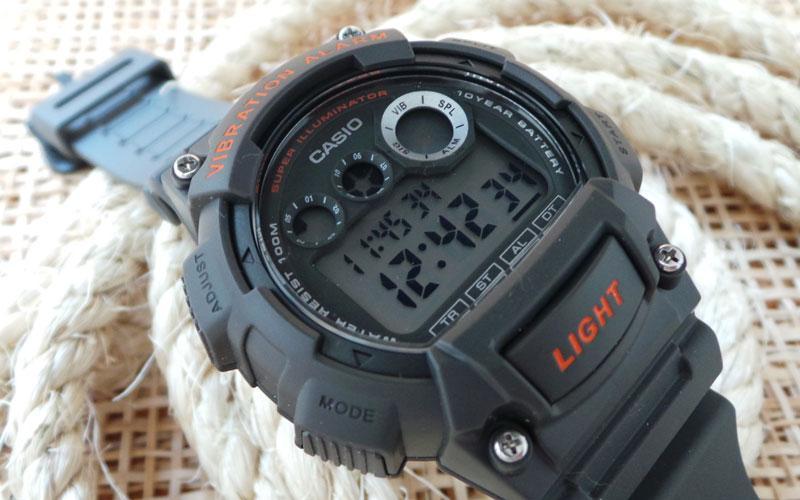 Мужские часы Casio W-735H-8A Мужские часы Orient EM0401NC